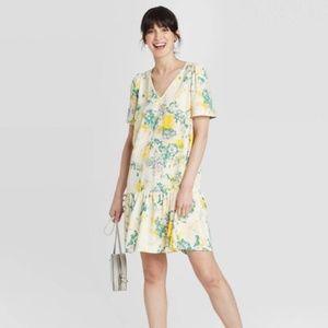 NWT A New Day Ruffle Hem Dress